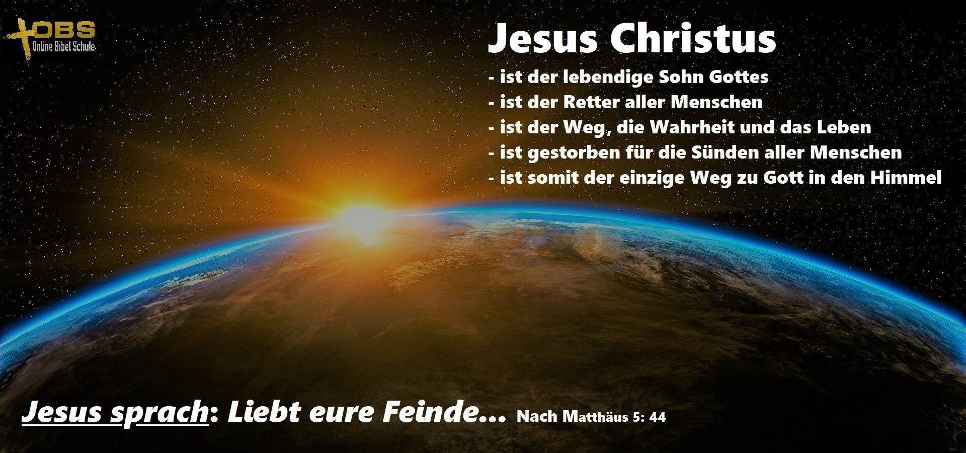 Online Bibel Schule